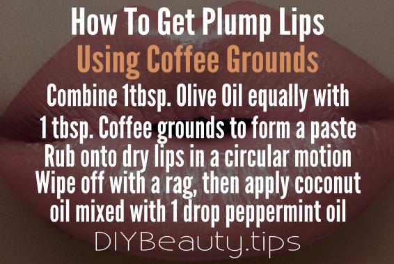how-to-get-plump-lips-using-coffee-grounds