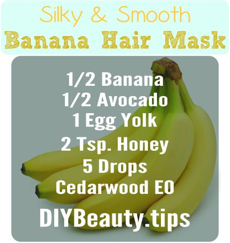 Silky Smooth Banana Hair Mask Diy Beauty Tips